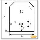 Plaque de sol, acier spécial, format de choix S3