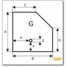 Plaque de sol, acier, format au choix S3