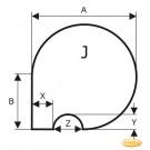 Plaque de sol, acier spécial, format de choix S5