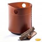Panier en bois et cuir Modèle Porinho