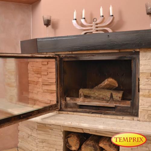 Temprix Kaminglas Adapté Pour Fireplace Parisautonettoyant /& cheminée Vitre four